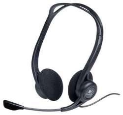 headphone logitech pc-headset-960 stereo usb