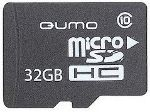 flash microsdhc 32g class10 qumo qm32gmicsdhc10+adapter