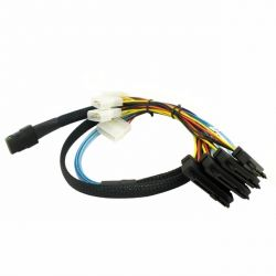 discount serverparts cable minisas-4sata+power used