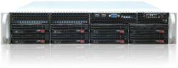 server supermicro 2u cse-825tq-r 2x 740w x10drl 2x 2011-v3 32gb