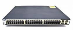 discount serverparts rack hub cisco ws-c3750-48ps-s k used