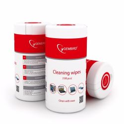 clean wipes gembird ck-ww100-01 100pcs