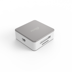 flash cardreader ritmix cr-2051 silver-white