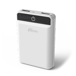 smartaccs charger powerbank ritmix rpb-10003l white