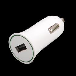 auto charger ritmix rm-112dc white usb