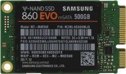 ssd samsung 500 mz-m6e500bw msata