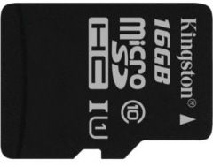 flash microsdhc 16g class10 uhs-1 kingston sdcs-16gb