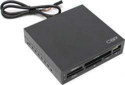 flash cardreader cbr cr-601 int black