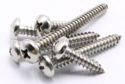 rc fix round head self-tapping screws m2-5x6
