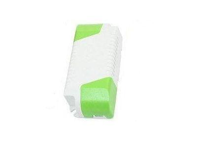 rc plastic enclosure l13 111x42x24mm white-green
